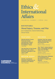 Ethics & International Affairs