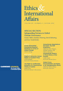 Ethics & International Affairs Volume 26 - Issue 4 -