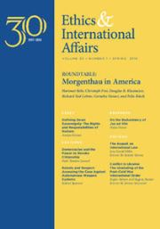 Ethics & International Affairs Volume 30 - Issue 1 -