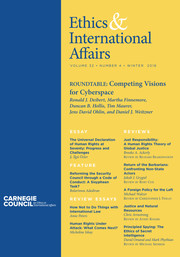 Ethics & International Affairs Volume 32 - Issue 4 -