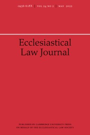 Ecclesiastical Law Journal