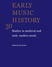 Early Music History Volume 30 - Issue  -