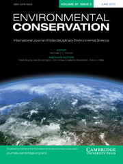 Environmental Conservation Volume 37 - Issue 2 -