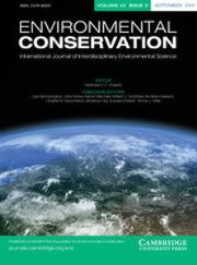 Environmental Conservation Volume 42 - Issue 3 -