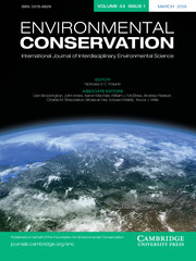 Environmental Conservation Volume 43 - Issue 1 -