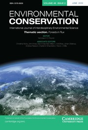 Environmental Conservation Volume 46 - Special Issue2 -  Thematic Section: Forests in Flux