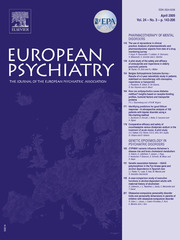 European Psychiatry Volume 24 - Issue 3 -