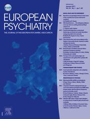 European Psychiatry Volume 26 - Issue 1 -