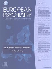 European Psychiatry Volume 57 - Issue  -