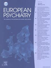 European Psychiatry Volume 59 - Issue  -
