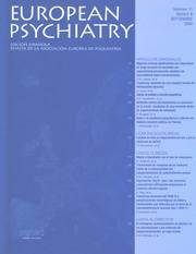 European Psychiatry Volume 11 - Issue 6 -