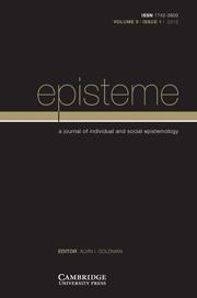 Episteme Volume 9 - Issue 1 -