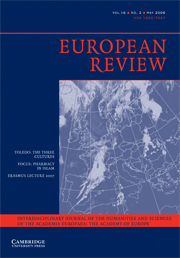 European Review Volume 16 - Issue 2 -