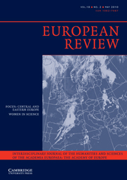European Review Volume 18 - Issue 2 -