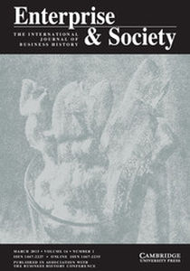 Enterprise & Society Volume 16 - Issue 1 -