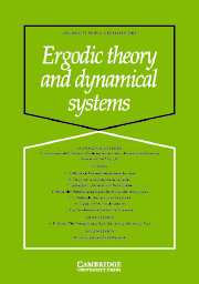 Ergodic Theory and Dynamical Systems Volume 23 - Issue 6 -