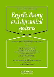 Ergodic Theory and Dynamical Systems Volume 24 - Issue 1 -
