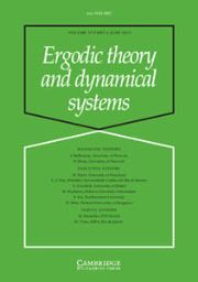 Ergodic Theory and Dynamical Systems Volume 35 - Issue 4 -