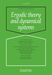Ergodic Theory and Dynamical Systems Volume 37 - Issue 3 -