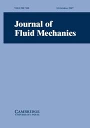 Journal of Fluid Mechanics Volume 588 - Issue  -