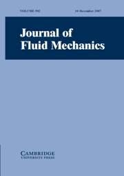 Journal of Fluid Mechanics Volume 592 - Issue  -