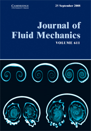 Journal of Fluid Mechanics Volume 611 - Issue  -