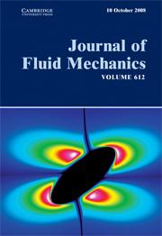 Journal of Fluid Mechanics Volume 612 - Issue  -