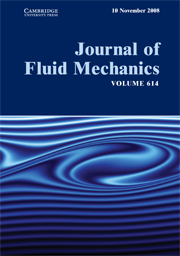 Journal of Fluid Mechanics Volume 614 - Issue  -