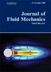 Journal of Fluid Mechanics Volume 615 - Issue  -