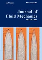 Journal of Fluid Mechanics Volume 616 - Issue  -