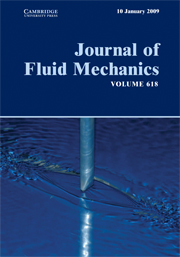 Journal of Fluid Mechanics Volume 618 - Issue  -