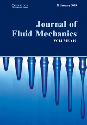Journal of Fluid Mechanics Volume 619 - Issue  -