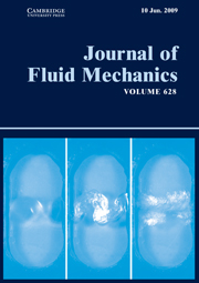 Journal of Fluid Mechanics Volume 628 - Issue  -