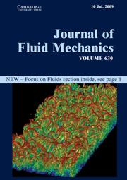 Journal of Fluid Mechanics Volume 630 - Issue  -