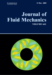 Journal of Fluid Mechanics Volume 641 - Issue  -