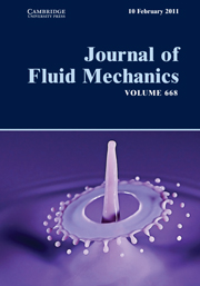 Journal of Fluid Mechanics Volume 668 - Issue  -