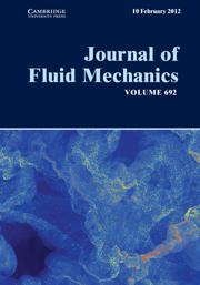 Journal of Fluid Mechanics Volume 692 - Issue  -