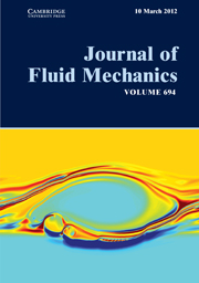 Journal of Fluid Mechanics Volume 694 - Issue  -