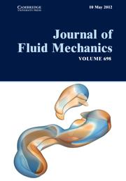 Journal of Fluid Mechanics Volume 698 - Issue  -