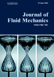Journal of Fluid Mechanics Volume 701 - Issue  -