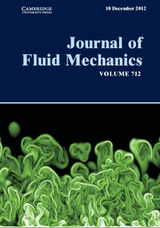Journal of Fluid Mechanics Volume 712 - Issue  -