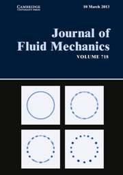 Journal of Fluid Mechanics Volume 718 - Issue  -