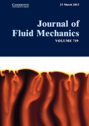 Journal of Fluid Mechanics Volume 719 - Issue  -