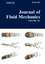 Journal of Fluid Mechanics Volume 722 - Issue  -