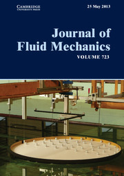 Journal of Fluid Mechanics Volume 723 - Issue  -