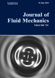 Journal of Fluid Mechanics Volume 725 - Issue  -