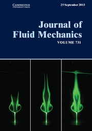 Journal of Fluid Mechanics Volume 731 - Issue  -