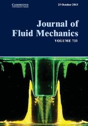 Journal of Fluid Mechanics Volume 733 - Issue  -