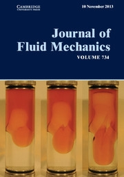 Journal of Fluid Mechanics Volume 734 - Issue  -