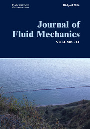 Journal of Fluid Mechanics Volume 744 - Issue  -